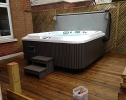 Hot Tub Area – Talbot Woods